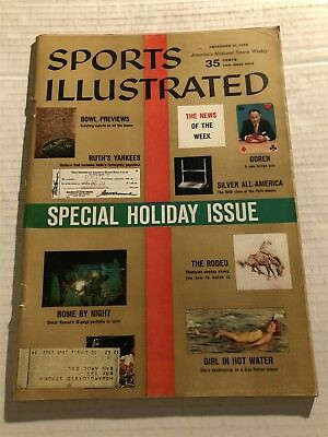 1959 Sports Illustrated SUGAR Bowl MISSISSIPPI vs LSU Tigers CANNON COTTON BOWL