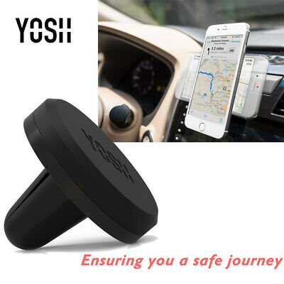 YOSH In Car Magnetic Phone Holder Fits Car Air Vent Universal Mount 2 colours