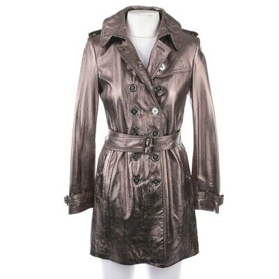BURBERRY LONDON DAMEN Trenchcoat Mantel Gr. 44 Rosa EUR