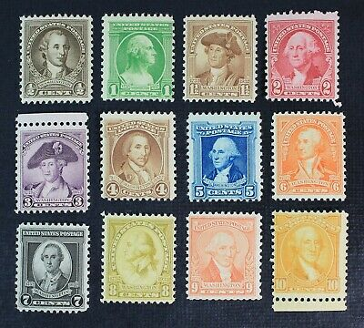 CKStamps: US Stamps Collection Scott#704-715 Mint NH OG