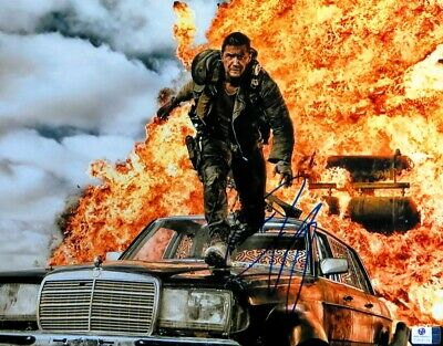 Tom Hardy Signed Autographed 11X14 Photo Mad Max: Fury Road Explosion GV806124