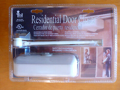 New Stanley Residential Door Closer Easy Installation