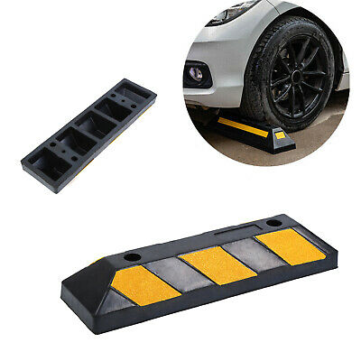 Garage Parking Stop >> 22 Garage Parking Curb Wheel Stopper Driveway Rubber Park Guide