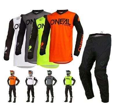 Oneal Threat Rider Combo S19 Quad Enduro Crosshose MX Jersey