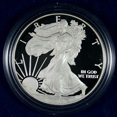 2012-W $1 Proof American Silver Eagle Coin