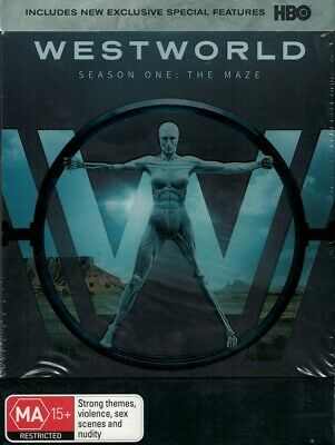 WESTWORLD: Season 1, The Maze ~ DVD, 3 Disc Set - Region [4] BRAND NEW