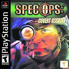 SPEC OPS: COVERT Assault PLAYSTATION ONE Play Tested! Scratch Free