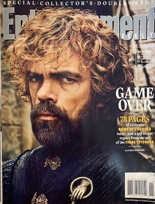 ENTERTAINMENT WEEKLY Magazine March 2019 Game of Thrones # 3 OF 16