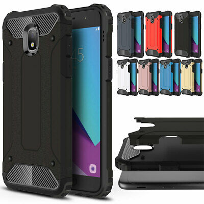 Hybrid Armor Shockproof Rugged Case Cover For Samsung Galaxy A6 A8 Plus Star