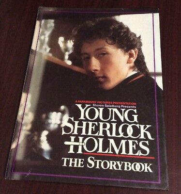 NEW - Steven Spielberg Presents Young Sherlock Holmes: The Storybook