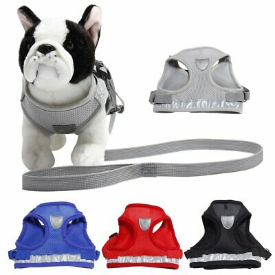 Cat Walking Harness and Lead Adjustable Reflective Strap Vest for Small Dog  YE