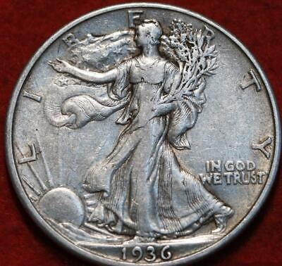 1936-D Denver Mint Silver Walking Liberty Half