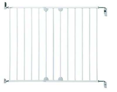 Baby Safety Gate Door Child Kids Large Extending Metal Stair Toddler Adjustable