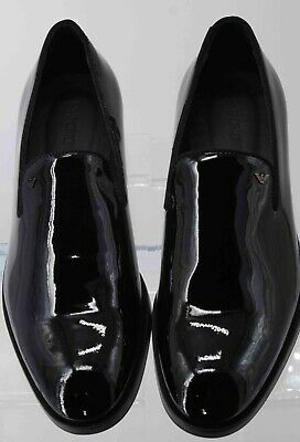 fd9ceede087 GIORGIO ARMANI MEN S Patent Leather Loafers