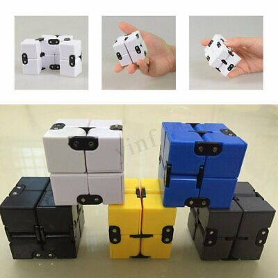 Luxury EDC Infinity Funny Mini Cube Stress Relief Fidget Anti Anxiety Kids Toys