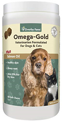 Overby Farm Omega Gold Salmone Oil Soft Chew