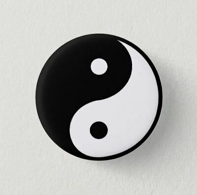Chapa Pin Button Badge YIN YANG