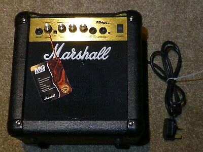 Marshall Amplifier MG10cd series  Practice Amplifier In Excellent condition