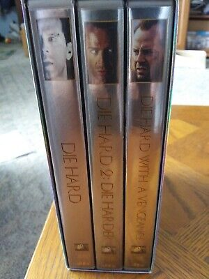 Die Hard Collection (DVD, 2006, 6-Disc Set, Ultimate Collection Widescreen Sens…