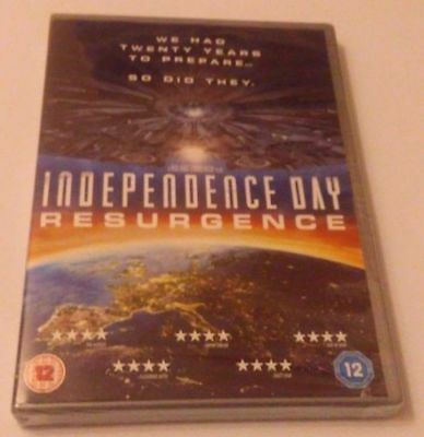 Independence Day Resurgence Dvd Brand New Sealed