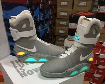 official photos 2d7f2 2344e Nike Air Mag Back To The Future 2011 Marty McFly DS Size 11 New With Box