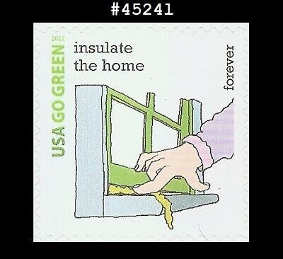 US #4524l MNH Go Green - Insulate the home