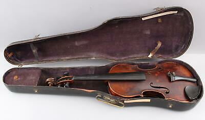 Early Antique 18/19thC Figured Maple, 4/4 Violin, NO RESERVE!