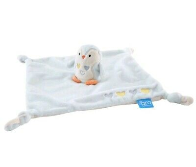 Percy the Penguin Grofriends Comforter by The Gro Company Plush Soft Blanket Toy