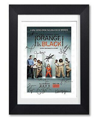 Orange Is The New Black Cast Signed Poster Print Season Photo Autograph Gift