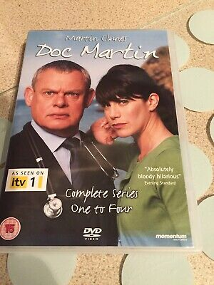 Doc Martin: The Complete Series 1-4 [DVD] Free Post