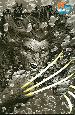 RETURN OF WOLVERINE #2 McNIVEN VIRGIN PX PREVIEWS NYCC VARIANT COVER / MARVEL