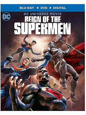 Reign of the Supermen (Blu-ray/DVD, 2019, 2-Disc Set) - No Digital Code