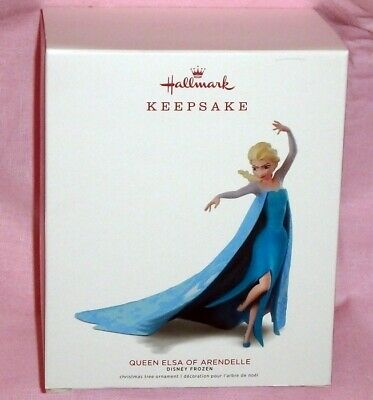 Hallmark Keepsake Ornament ~ Disney Frozen ~ Queen Elsa Of Arendelle ~ 2018 *new