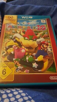 Mario Party 10 (Nintendo Wii U, 2016, DVD-Box) Spiel Game