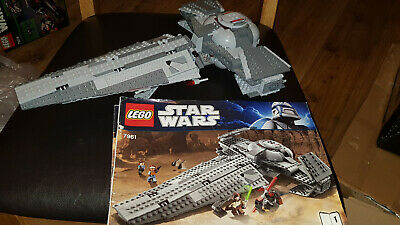 LEGO Star Wars 7961 Darth Maul's Sith Infiltrator ship Only No Mini Figures