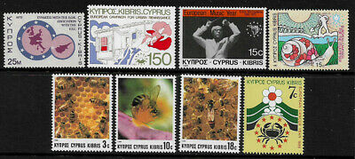 Cyprus Small Lot of MNH Stamps