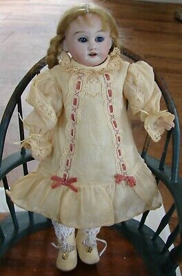"""Antique Armand Marseille Jointed Doll Am 8/0 Dep 8"""" Jointed Knees & Elbows"""