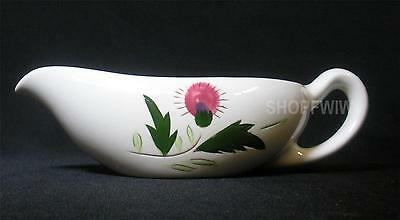 Vintage Stangl Thistle Pattern Gravy Boat Circa 1950's