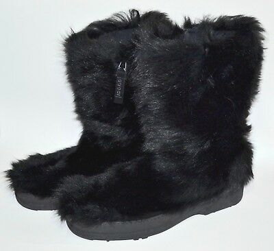 fb3ec7de443 Authentic Gucci Gg Pattern Nylon Leather Snow Boots Black Grade Ab Used - Hp.   312.27 Buy It Now or Best Offer 2d 2h. See Details. Vtg GUCCI Black Goat  Fur ...