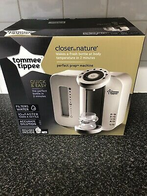 Tommee Tippee Perfect Prep Machine, White NEW