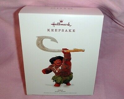 Hallmark Keepsake Ornament ~ Disney ~ Moana ~ Maui ~ 2018 *new