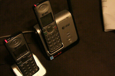 Two AT&T Dec 6.0 Cordless Phones with caller Id/charger and extra charger ..