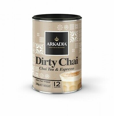 🌱Arkadia Chai Tea Dirty 240g - Free Shipping - Cafe Beverage - Easy to make