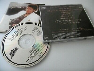 Michael Jackson : Thriller Cd No Barcode Made In Japan Cdepc 85930 Epic/Sony