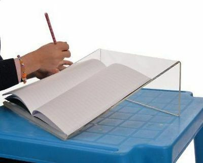 Clear Acrylic Writing Slope For Better Writing Posture 20 Degree SAMEDAY SHIP