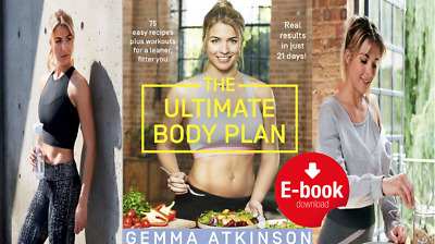 The Ultimate Body Plan, Gemma Atkinson Recipes & Workout, Body Coach SEE DETAILS