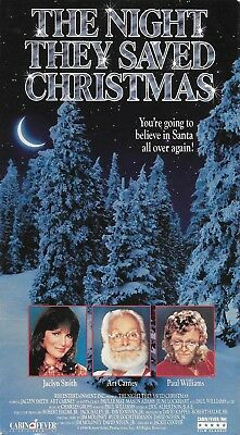 The Night They Saved Christmas (VHS) Out of Print! OOP! Cabin Fever Release!