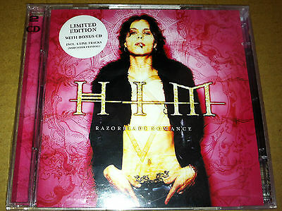HIM H.I.M. Razorblade Romance 2 CD & BONUS LIVE 6TRK CD SEALED USA seller 2000