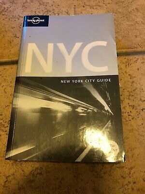 Lonely Planet New York City Guide Book In Great Condition