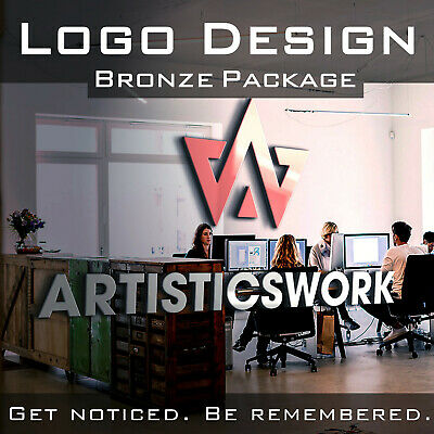 Professional Custom Logo Design | Unlimited Revisions | Bronze Package